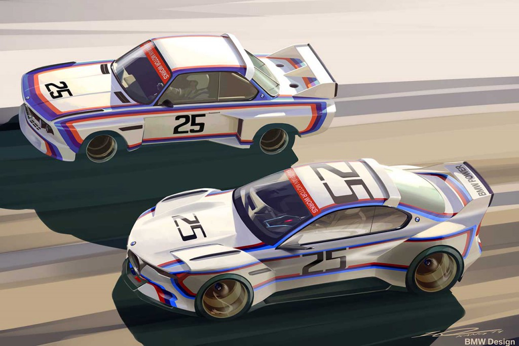 Officiell bmw 30 csl hommage r