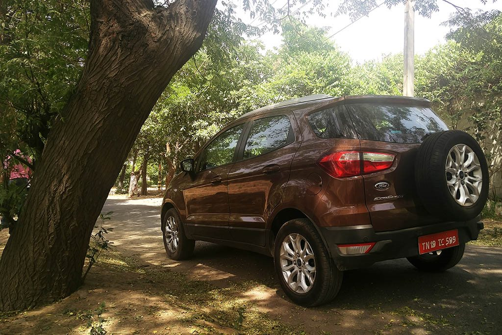 The Ford EcoSport with 100 bhp on tap is a delight