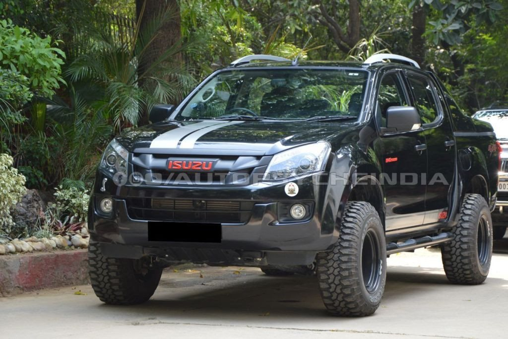 this isuzu d max v cross is even more