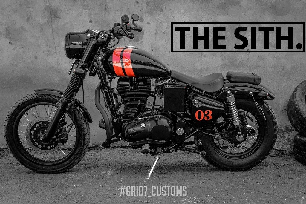 This used to be a Royal Enfield Bullet Classic 350! - MotorScribes