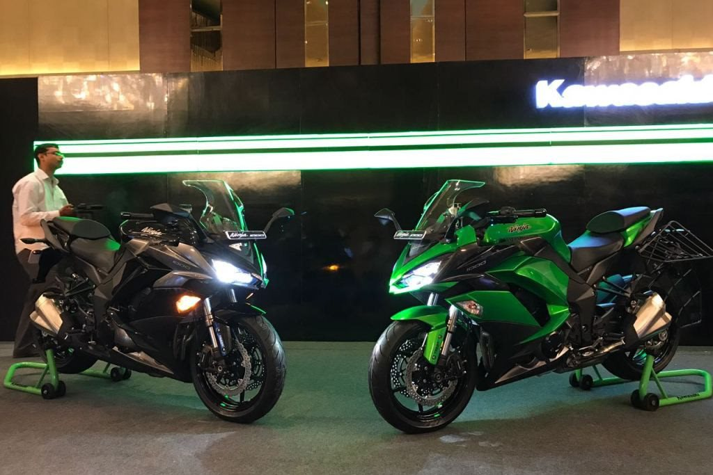 Kawasaki Ninja 1000 launched for INR 9 98 lakh - MotorScribes