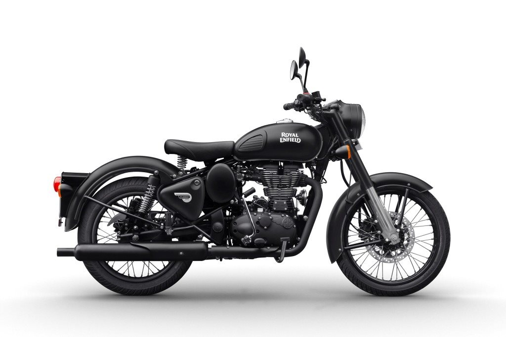 Royal Enfield Classic 350 and 500 now available in Gunmetal