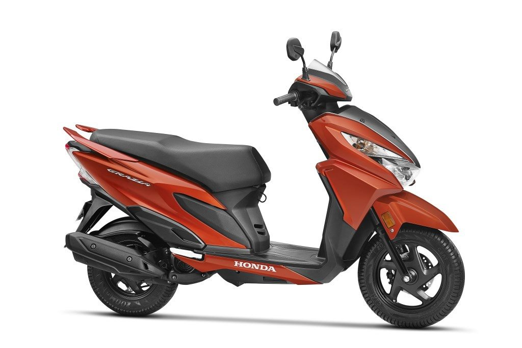 Honda Grazia Scooter Launched For Inr 57897 Motorscribes
