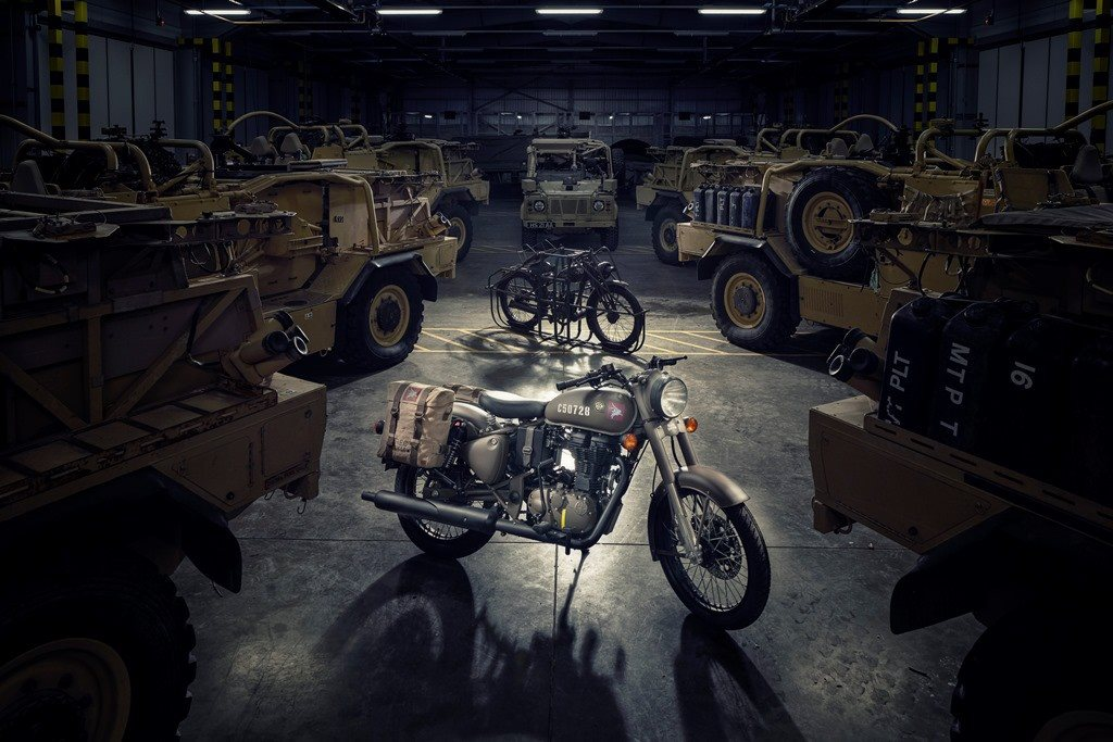 Royal enfield launches the limited edition classic 500 pegasus
