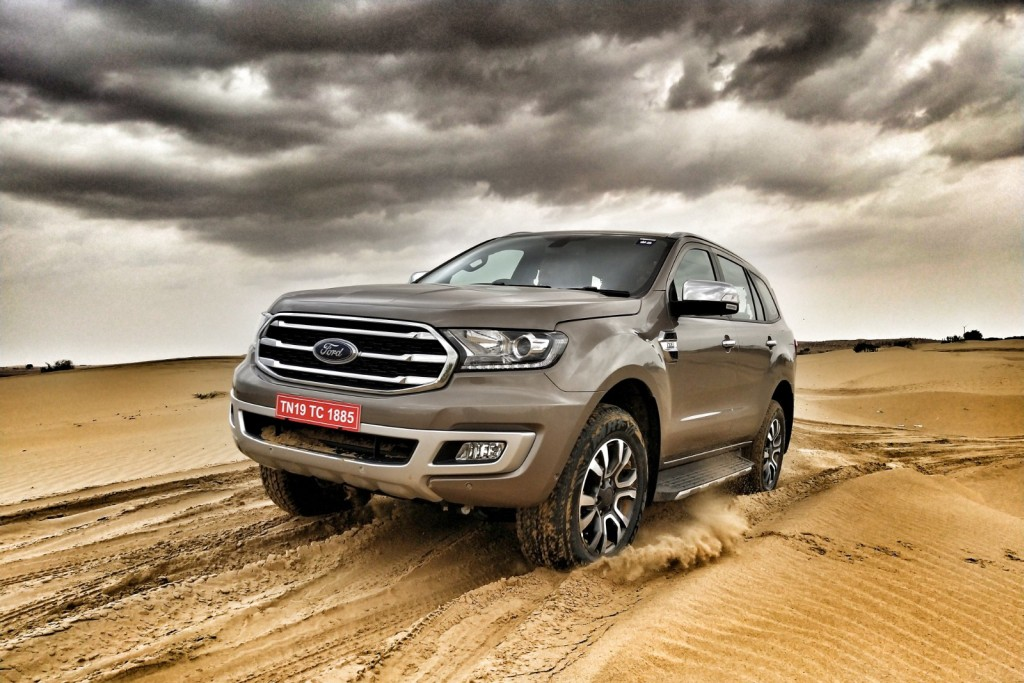 Ford Endeavour 2019 Edition First Drive And Dune Bashing Motorscribes